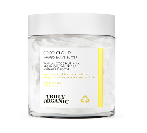 Truly Organic   Coco Cloud Luxury Shave Butter