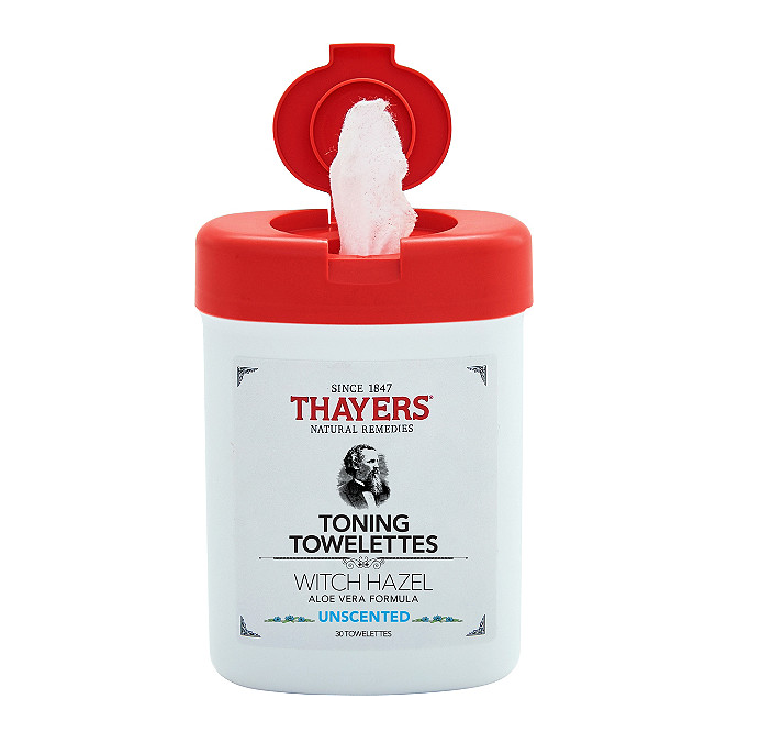 Thayers   Unscented Toning Towelettes