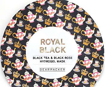 DEARPACKER   Black Tea & Black Rose Hydrogel Mask