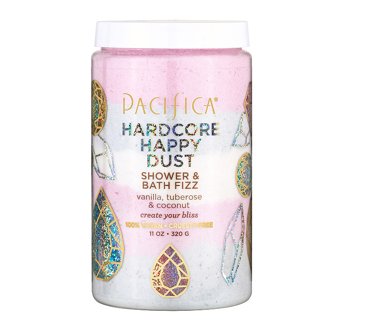 Pacifica   Hardcore Happy Bath Dust Shower & Bath Fizz
