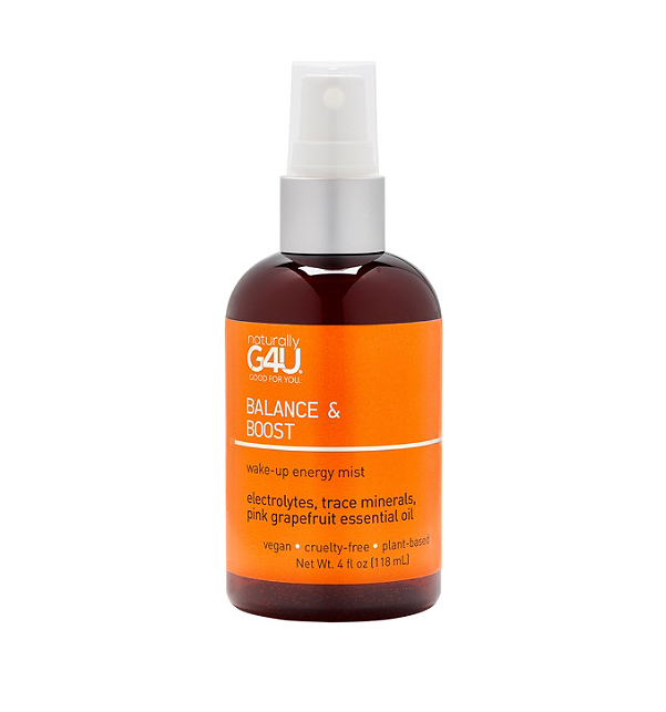 Natrually G4U   Balance & Boost - Wake-Up Energy Mist