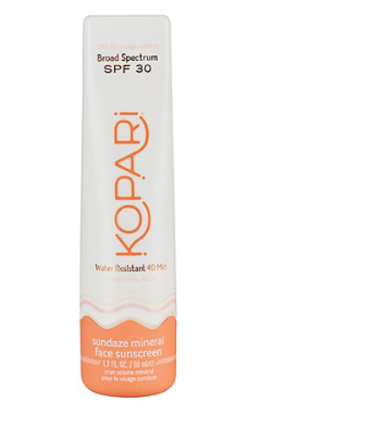 Kopari Beauty   Sundaze Mineral Face Sunscreen SPF30