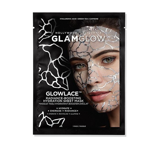 Glamglow   GLOWLACE™ Radiance-Boosting Hydration Sheet Mask
