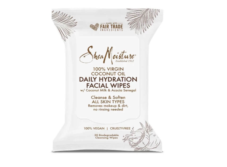 Shea Moisture    Virgin Coconut Oil Daily Hydration Facial Wipes