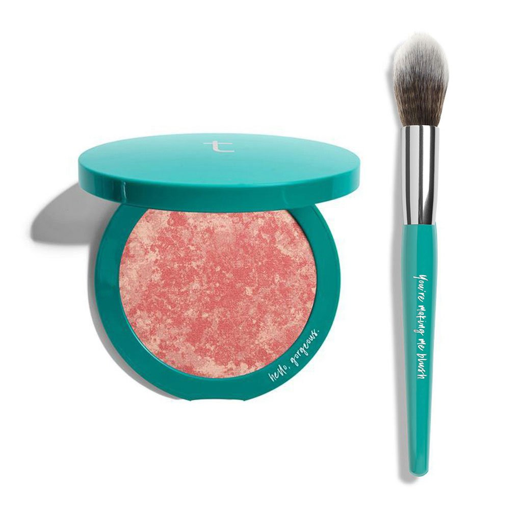 Thrive Causemetic   s  Blush + Brush Set