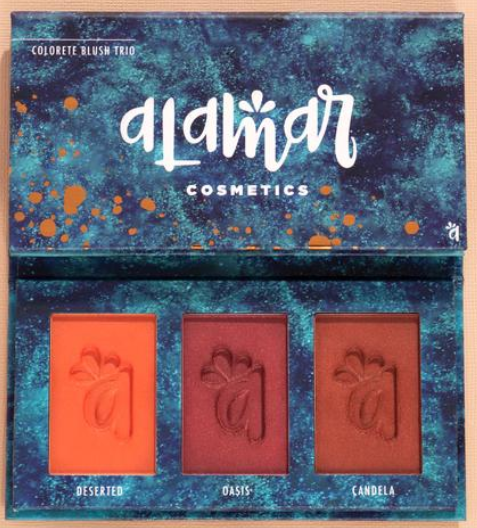 Alamar Cosmetics   Colorete Blush Tri0