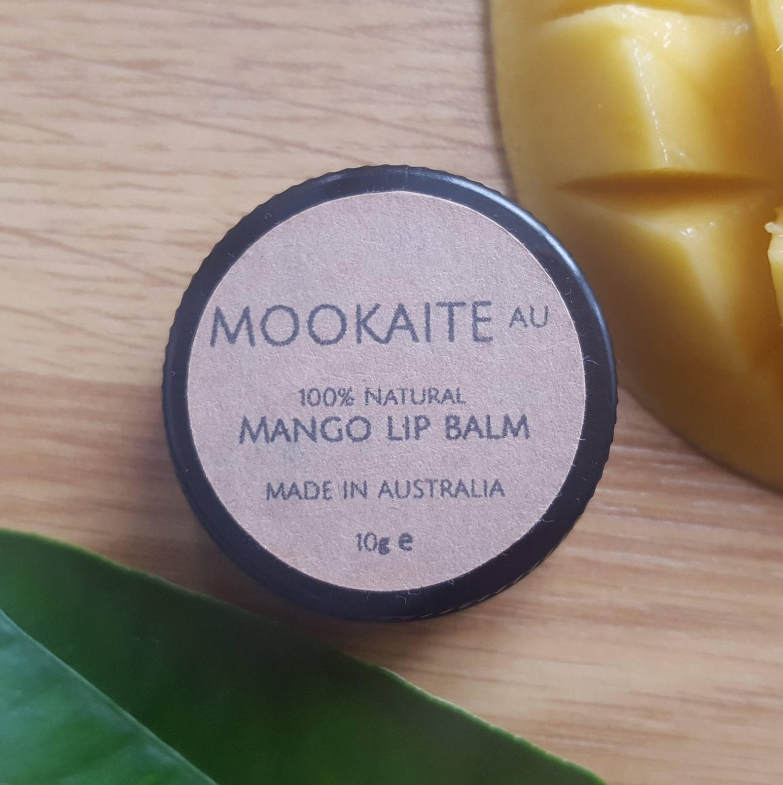MookaiteAU   100% Natural Mango Lip Balm