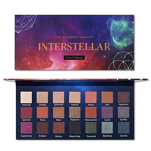 Prism Makeup   Interstellar Eyeshadow Palette