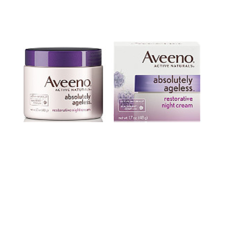 Aveeno   Absolutely Ageless Restoring Night Cream