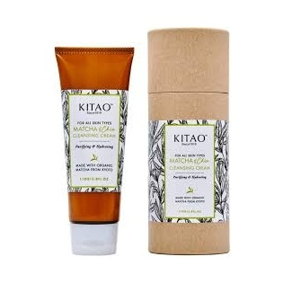 Kitao   Matcha + Chia Cleansing Cream