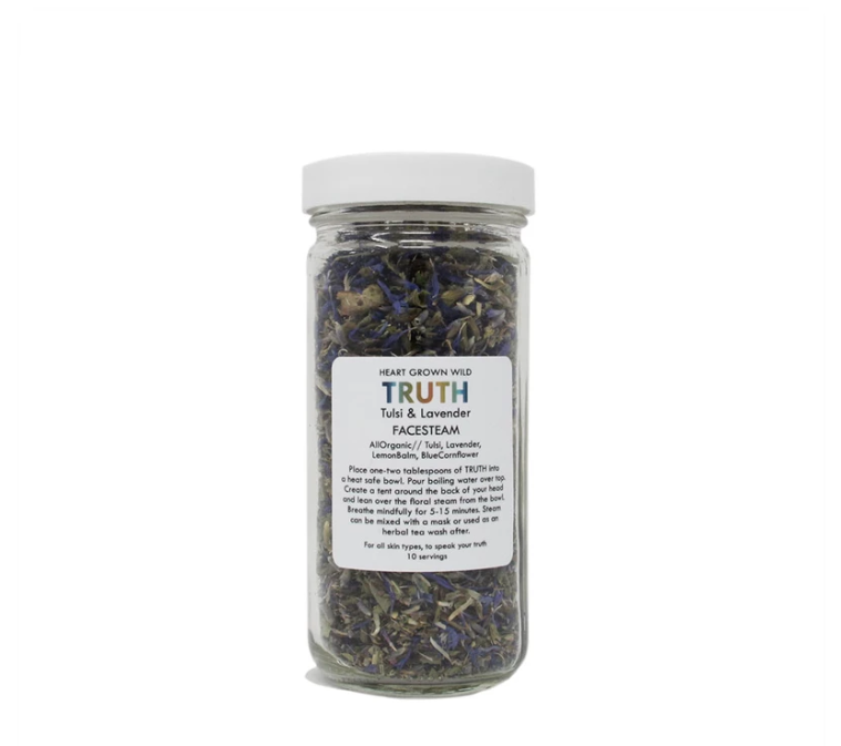 Heart Grown Wild   Truth Tulsi & Lavender Facial Steam