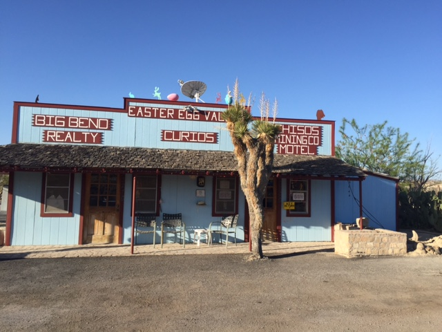 Chisos Mining Co Motel, Easter Egg Valley, Study Butte, Texas  Photo by Heather Holland