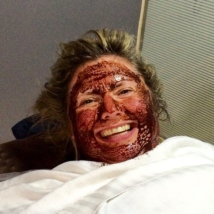 Doreen enjoyed the chocolate facial and body wrap at the Blue Haven Spa at the True Blue Bay Resort in Grenada