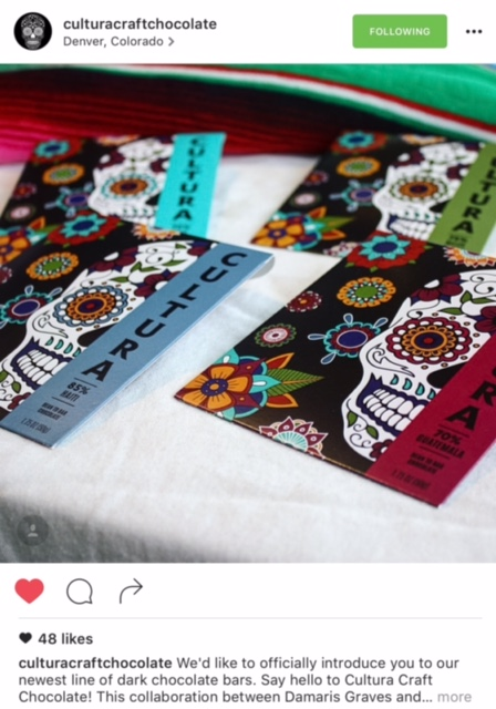 "An official introduction online teases the newest line of dark chocolate bars. ""Say hello to Cultura Craft Chocolate."" Photo by Cultura Craft Chocolate"