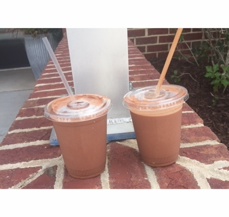 THE frozen drinking chocolate.