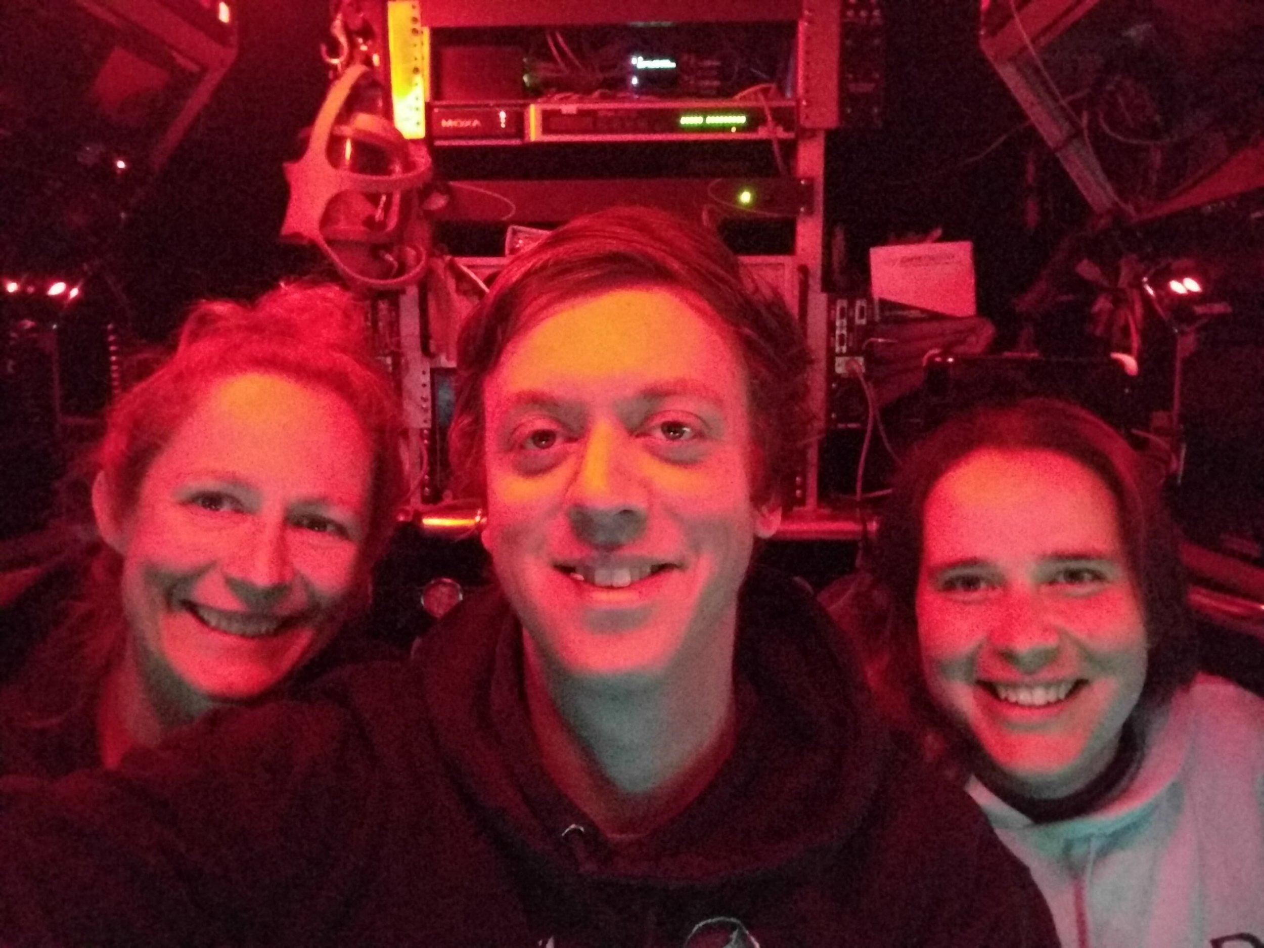 Dr. Alysia Cox, Danik Forsman, and Dr. Elizabeth Trembath-Reichert   Photo Credit: Danik Forsman