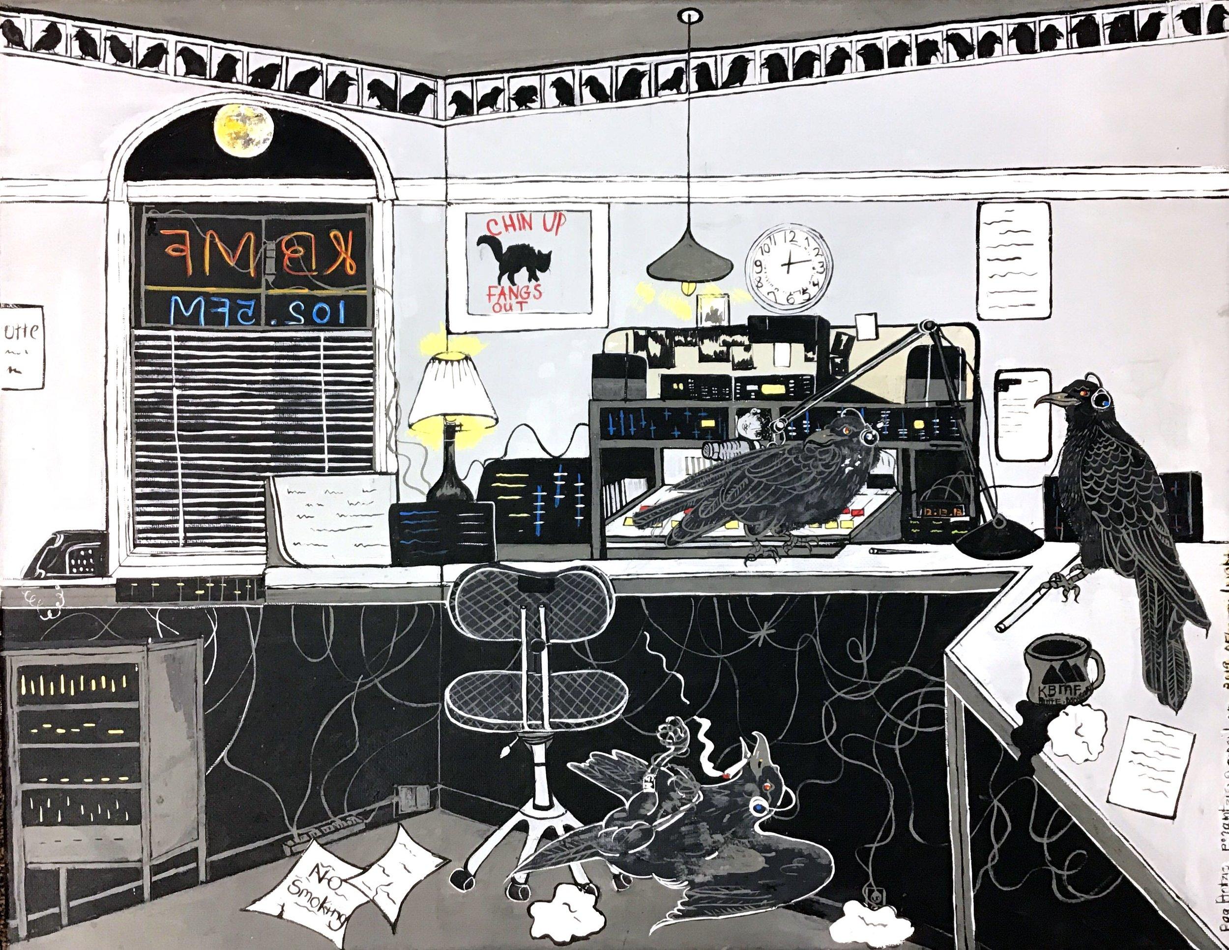 Painting by Peg Amtzis