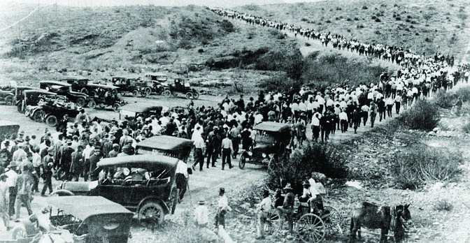 The 1917 Bisbee Deportation