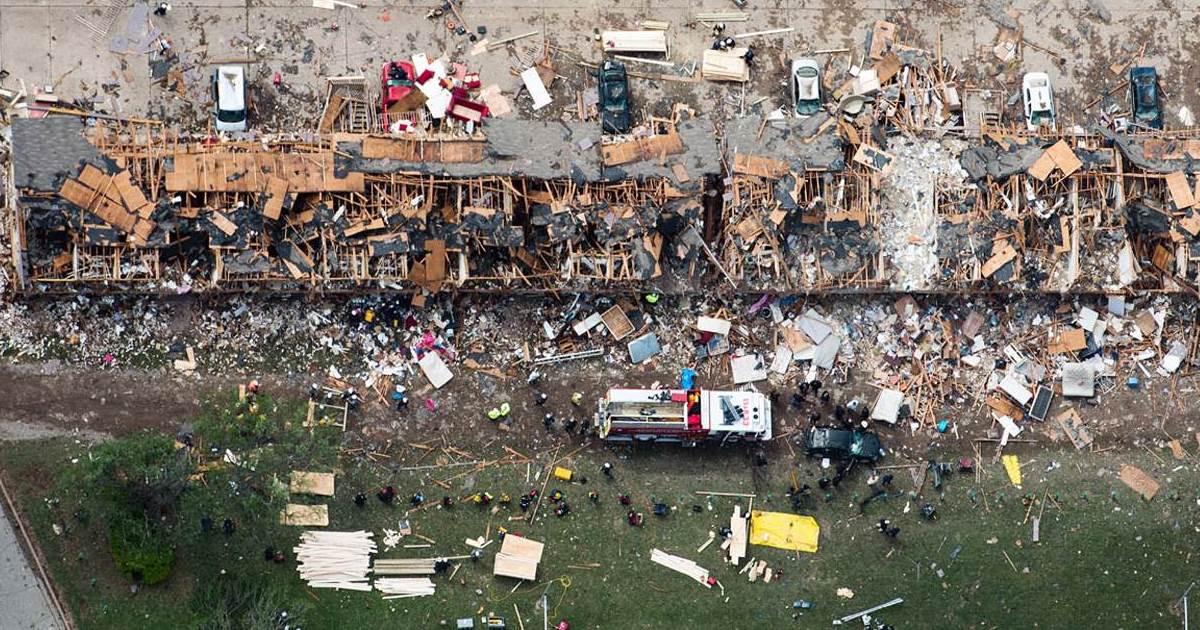 West Texas Fertilizer Plant Explosion, 2013