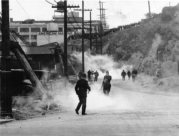 Bloody Thursday, San Francisco July 5, 1934
