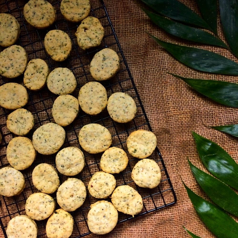 Nettle & Ghee Crackers
