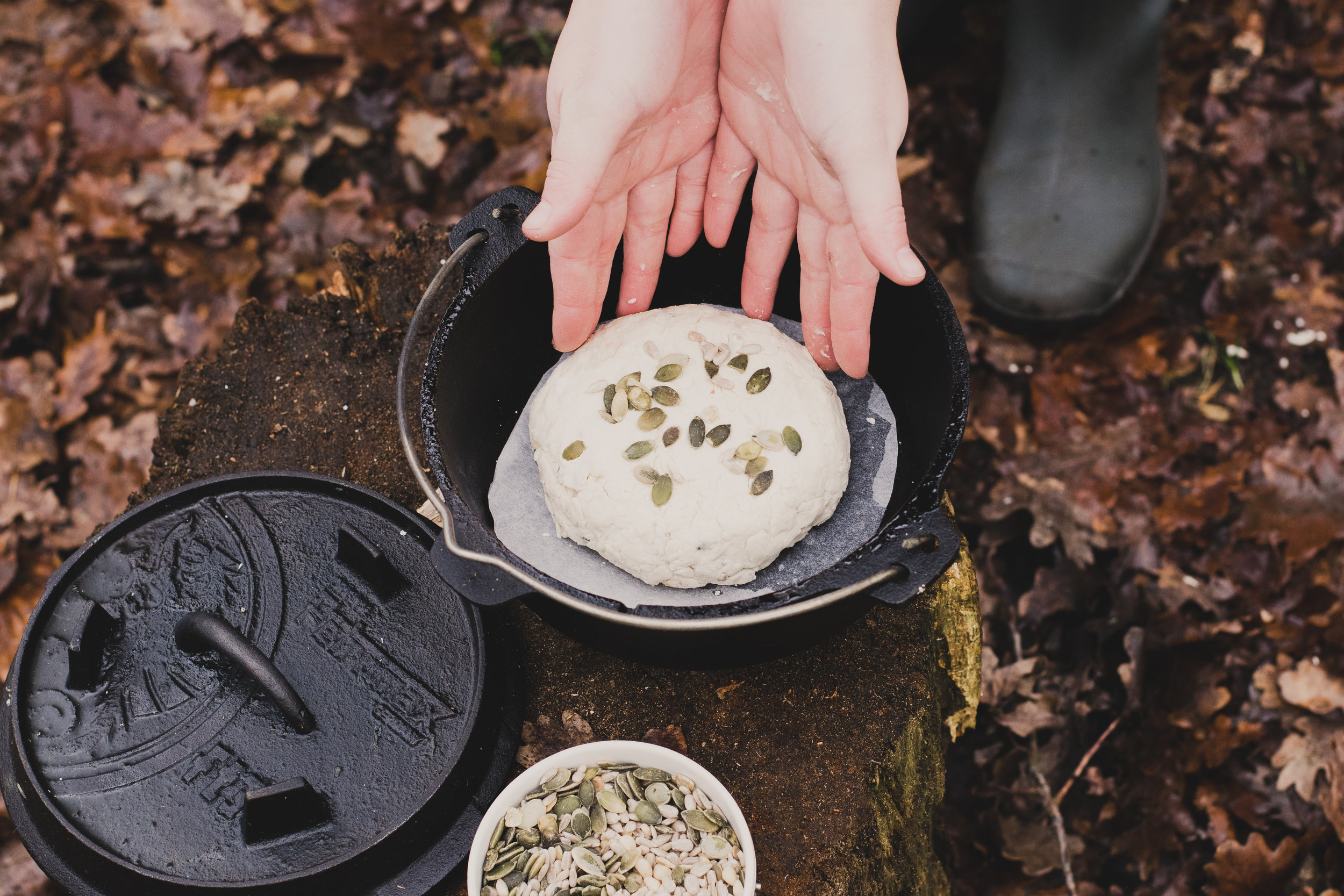 Outdoor No Knead Bread Recipe