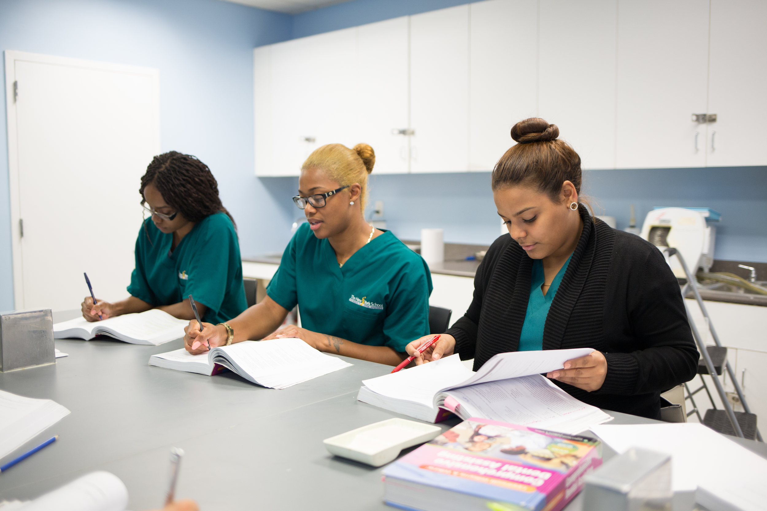 NYSMDA Dental Assistant Students in Classroom