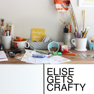 Elise Gets Crafty - Elise is just great.  I related to her the most out of most of the people -- she's made herself business savvy just by having a successful crafty business. I love that she shares her