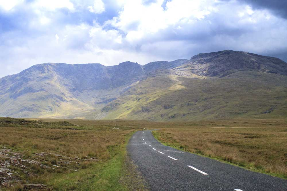 Connemara Pass, north of Galway