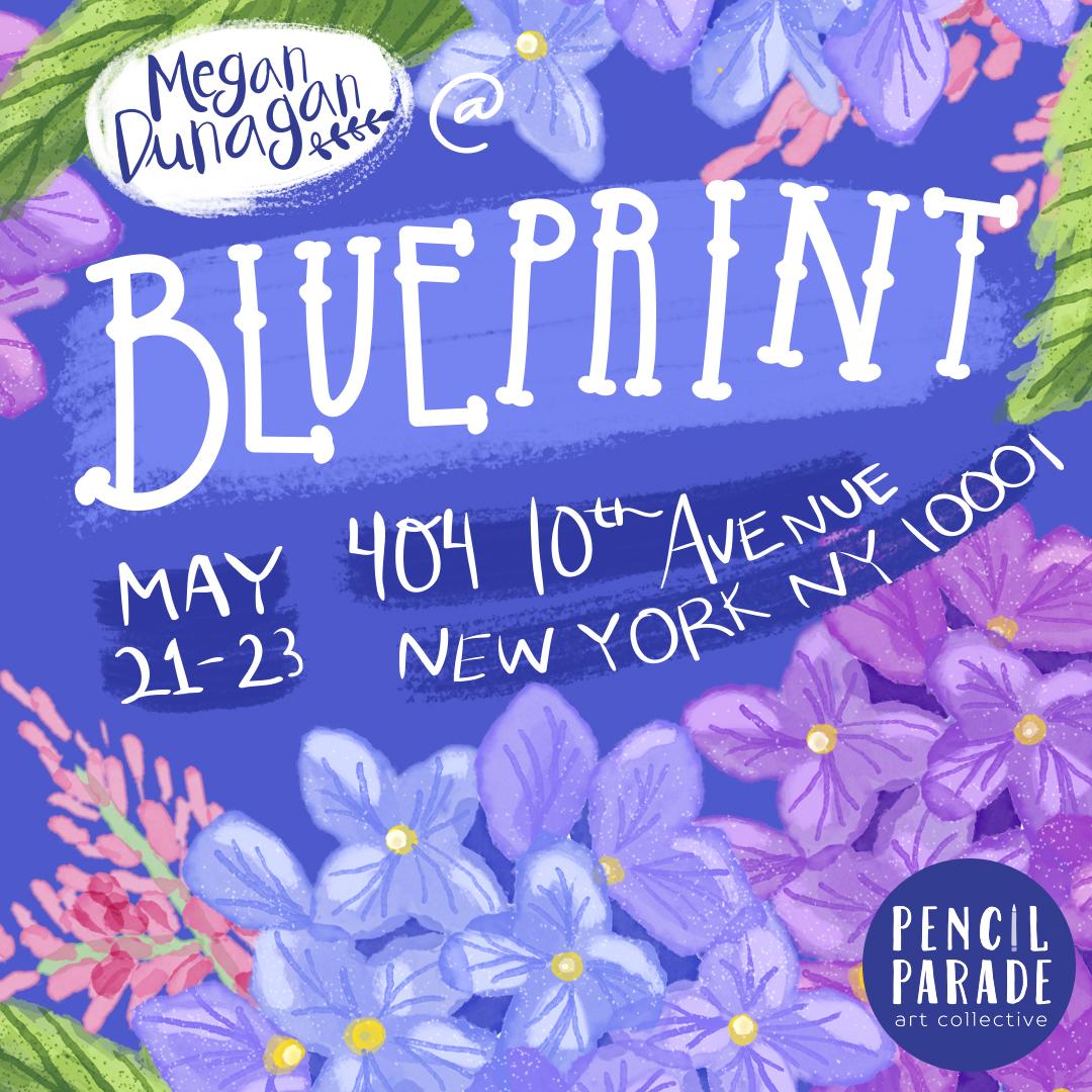 Hydrangeas Megan Dunagan Blue Print 2017