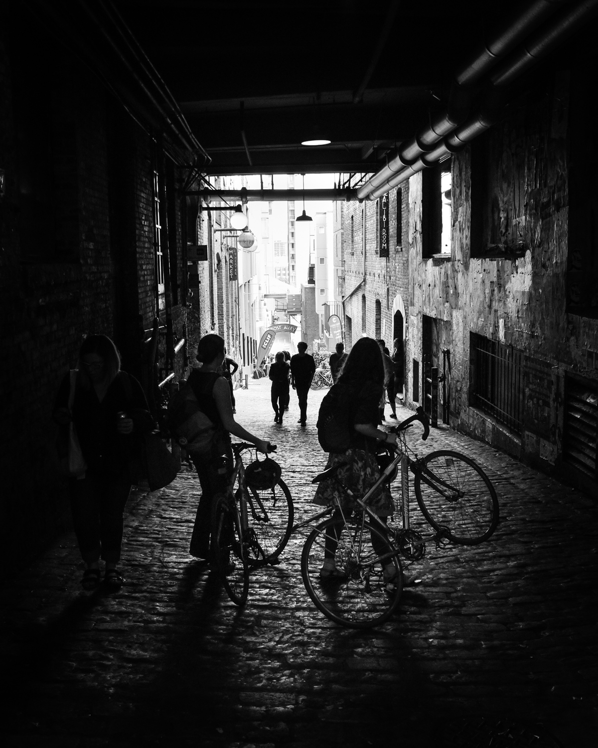 Post Alley Bikers #2