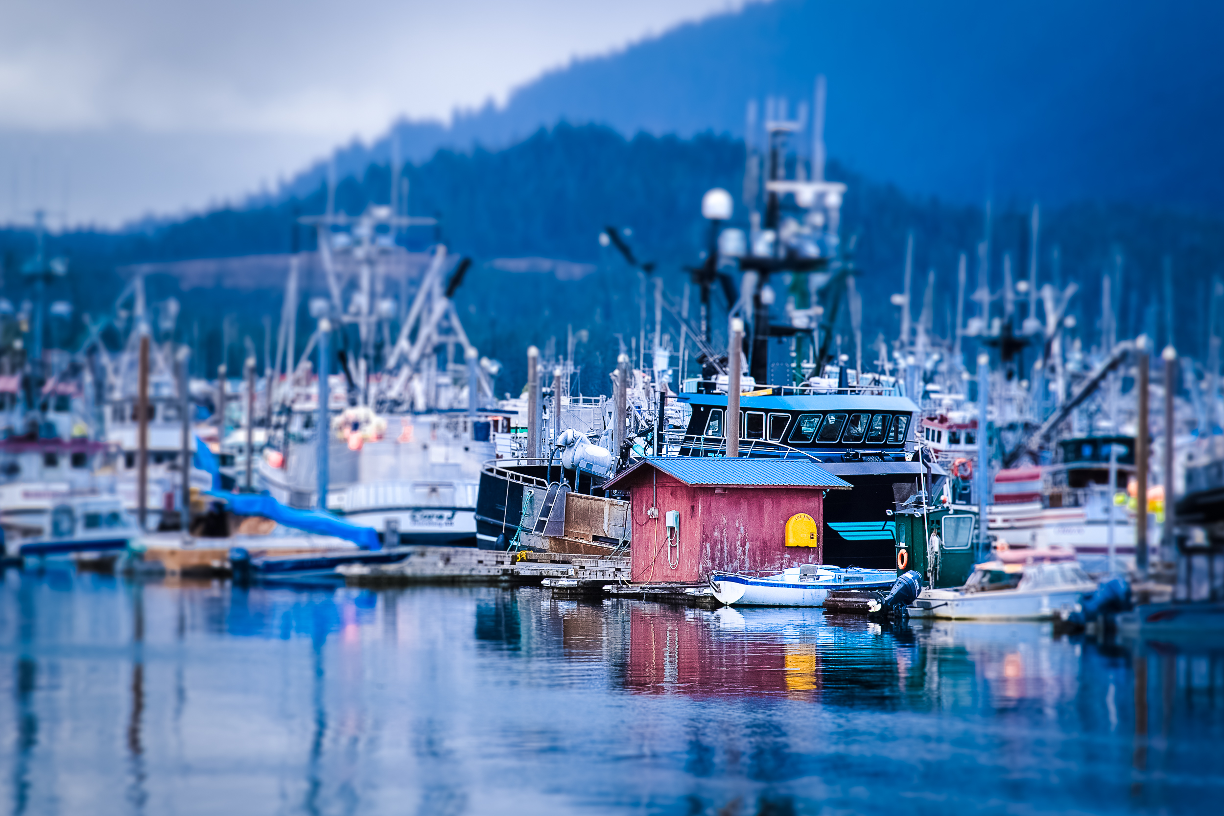 Queen Charlotte City Docks, Haida Gwaii, British Columbia
