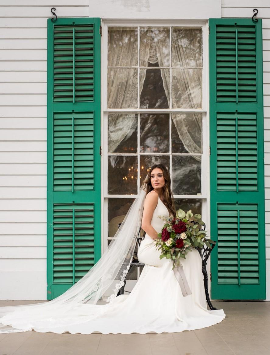 Barrington Hall Stylized Wedding