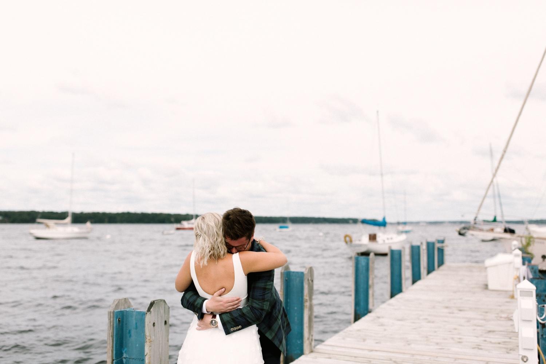 Michigan Frontyard Lake Wedding - Lauren Crawford Photography-185.jpg