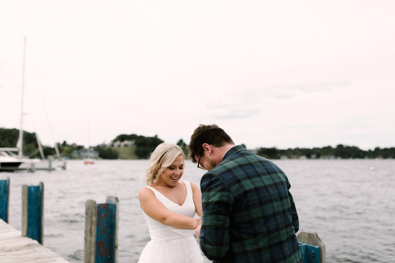 Michigan Frontyard Lake Wedding - Lauren Crawford Photography-191.jpg