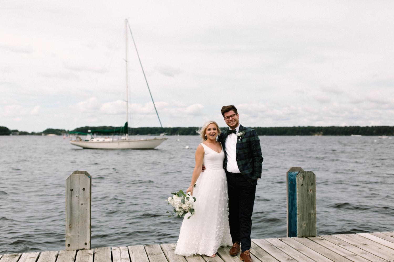 Michigan Frontyard Lake Wedding - Lauren Crawford Photography-251.jpg