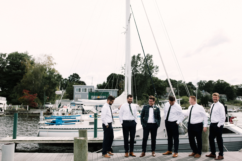 Michigan Frontyard Lake Wedding - Lauren Crawford Photography-378.jpg