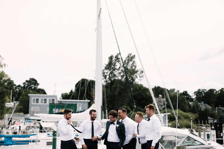 Michigan Frontyard Lake Wedding - Lauren Crawford Photography-388.jpg