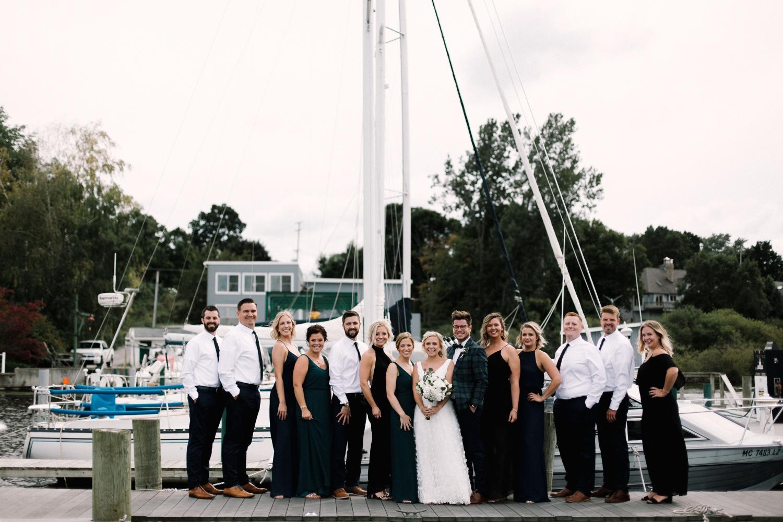 Michigan Frontyard Lake Wedding - Lauren Crawford Photography-363.jpg