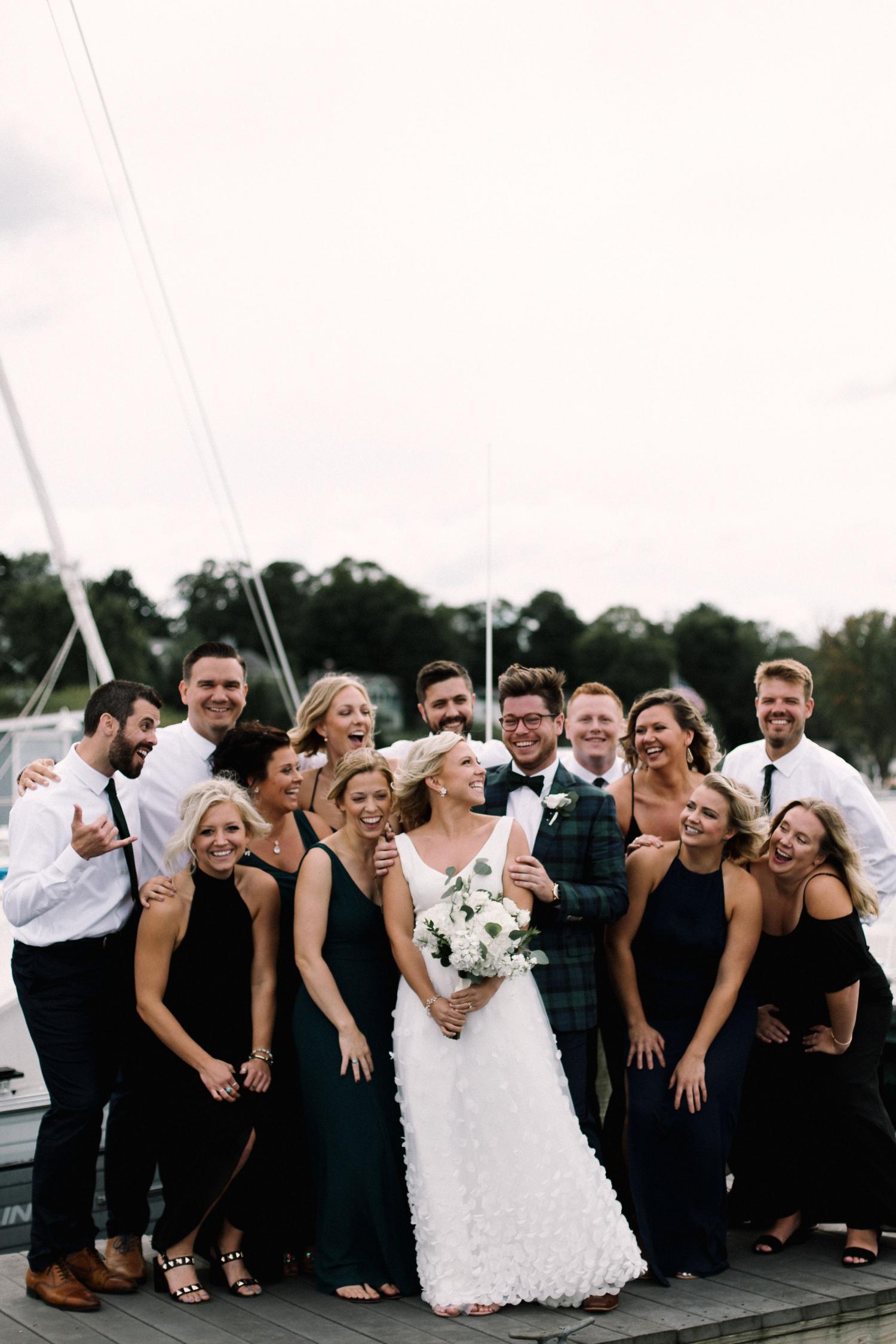 Michigan Frontyard Lake Wedding - Lauren Crawford Photography-371.jpg