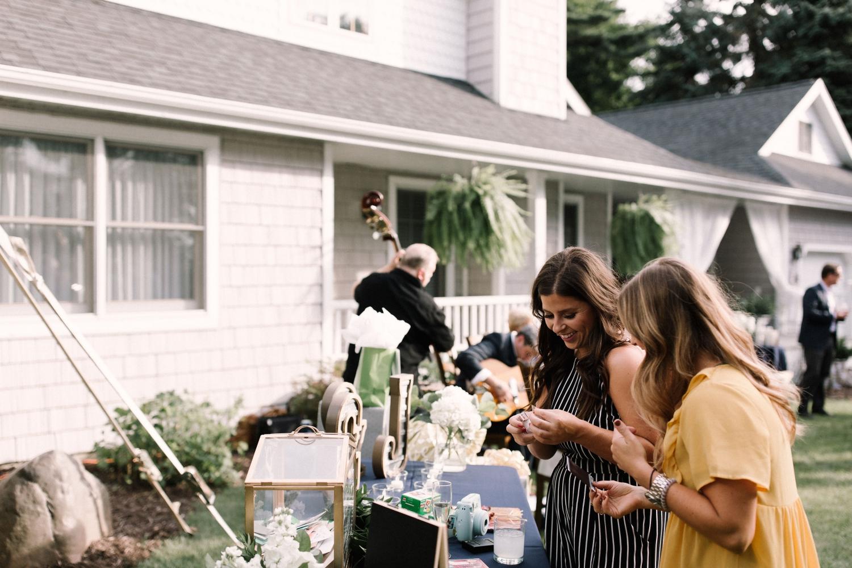 Michigan Frontyard Lake Wedding - Lauren Crawford Photography-657.jpg