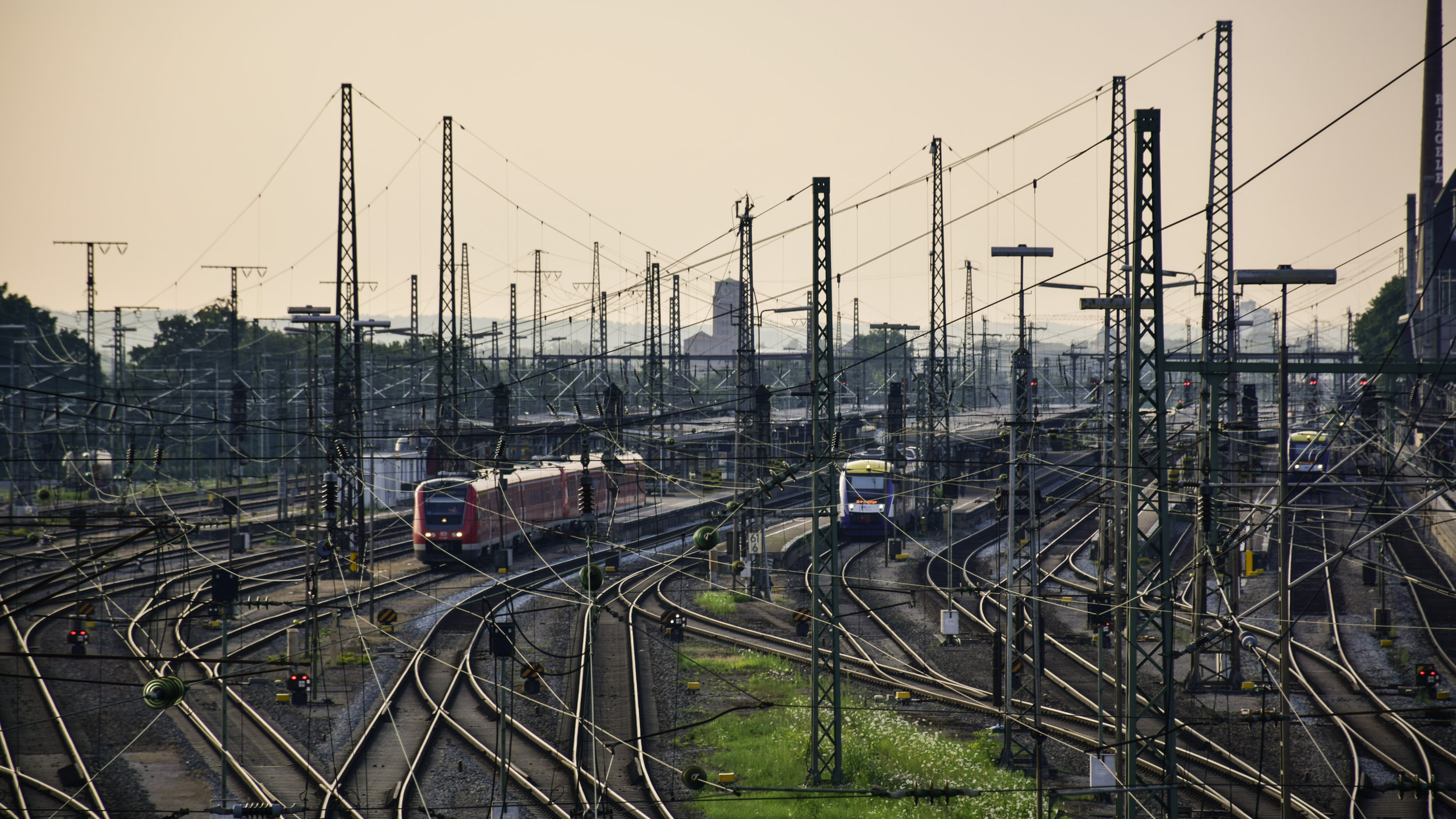 Train Station Augsburg