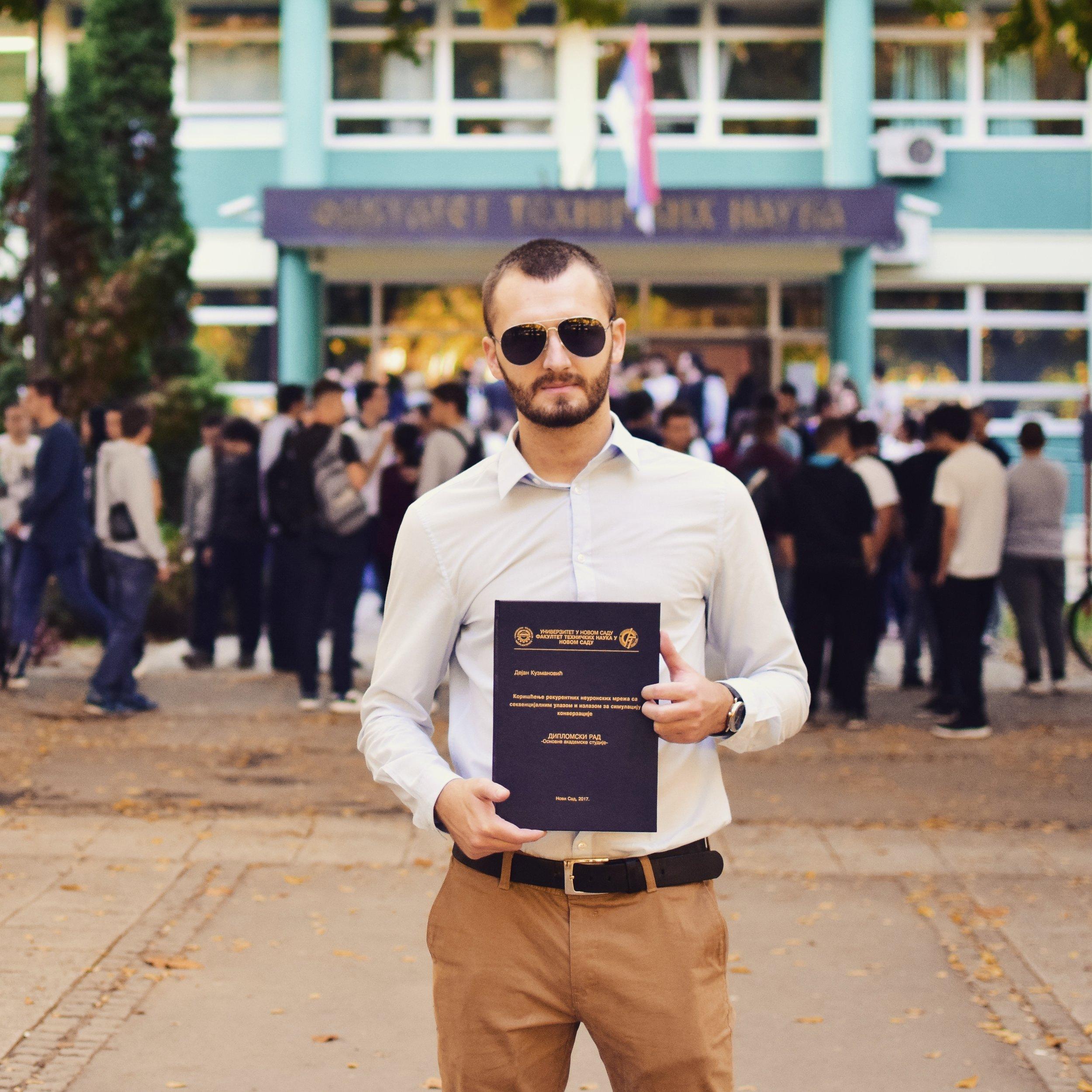 Graduation 2017, Novi Sad