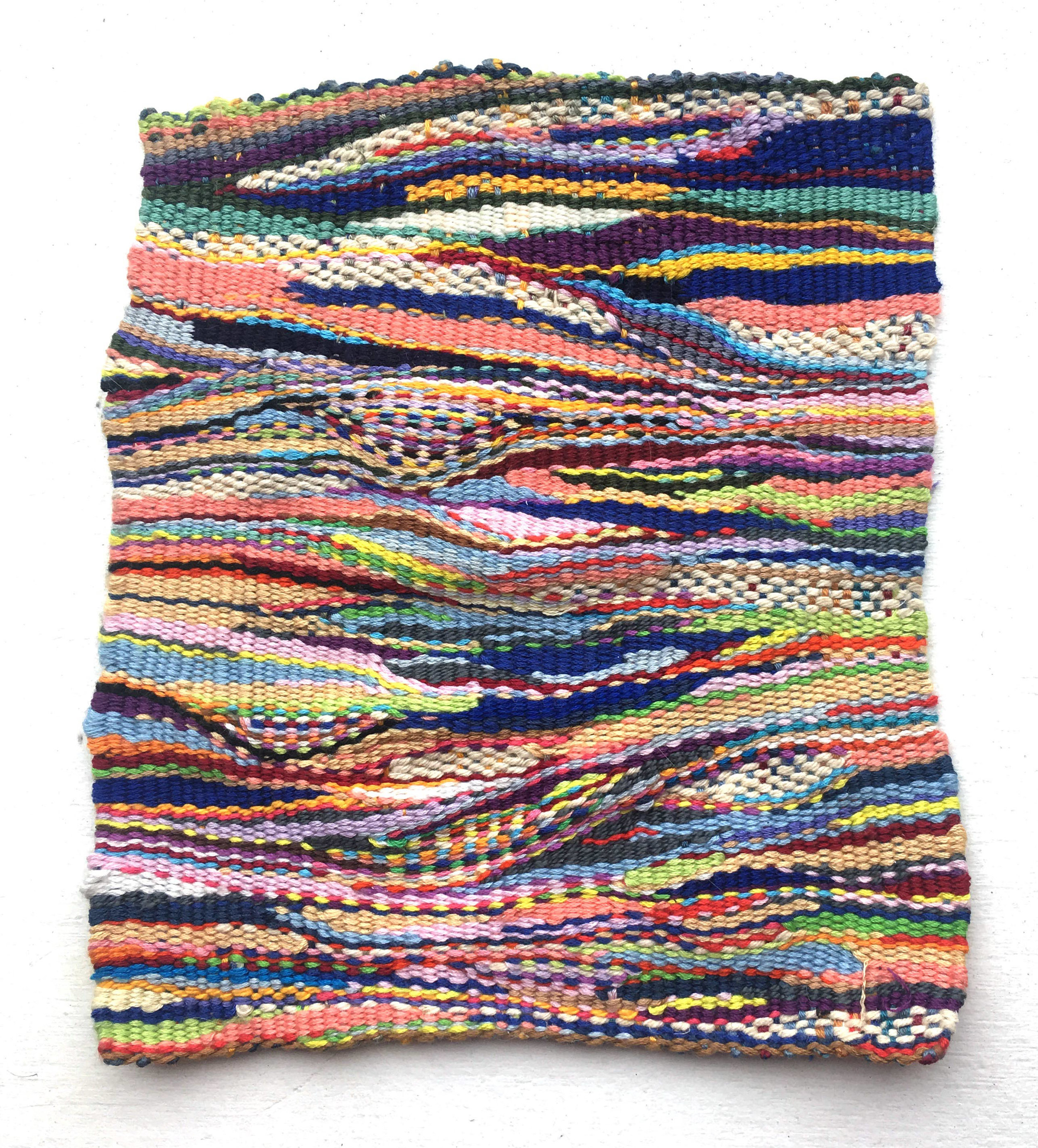 6 x 7  Woven embroidery thread