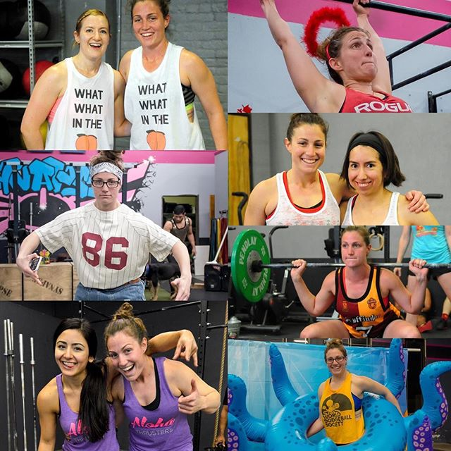 A very happy birthday to coach @brendakramer 😻🎉🎈🎊😻 Show her all the love y'all!!! #crossfitsynapse #frenda