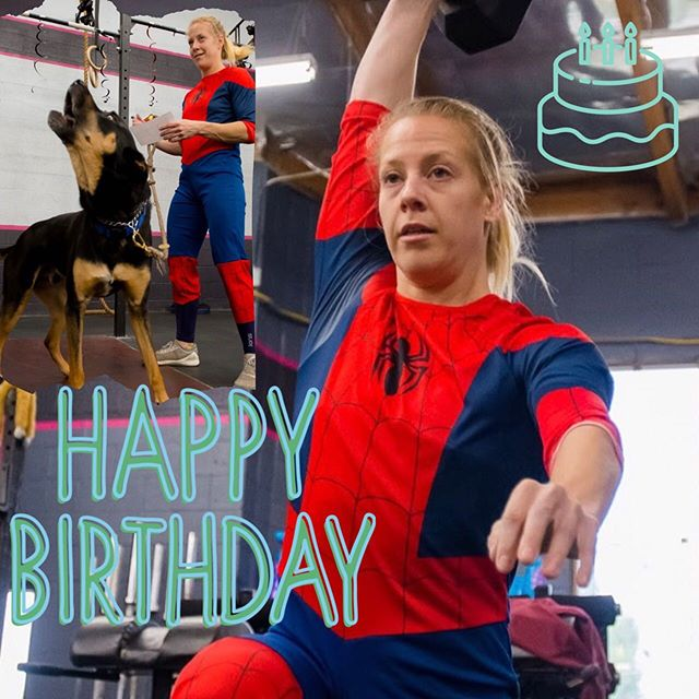 Happy Birthday Allison! 🎂🎉 ⚡️ ⚡️Your Synapse family loves you! 💜 ⚡️ ⚡️ #bestgymever#synapsefamily#crossfit#crossfitsynapse#superheroesofsynapse#challengeyourself#fitness#fitnessgoals#gym#reseda#tarzana#sfv#pr#happybirthday#synapsebirthdays @allisassin