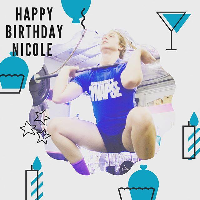 Happy Birthday Coach Nicole 😸🎂🎉 ⚡️ ⚡️Stay Purr-Fect🐱 ! - Your Synapse Family⚡️ ⚡️ ⚡️ ⚡️ ⚡️ #bestgymever#synapsefamily#crossfit#crossfitsynapse#superheroesofsynapse#challengeyourself#fitness#fitnessgoals#gym#reseda#tarzana#sfv#pr#gymnastics#meow#birthdays#bday