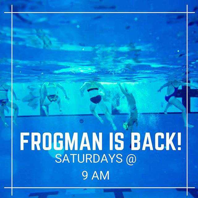 🐸Haven't you heard? Frogman's back!! 🐸 ⚡️ ⚡️This Saturday at 9:00 AM ⚡️ ⚡️ ⚡️Location: Van Nuys- Sherman Oaks Aquatic Center⚡️ ⚡️ ⚡️ #bestgymever#synapsefamily#crossfit#crossfitsynapse#superheroesofsynapse#challengeyourself#fitness#fitnessgoals#gym#reseda#tarzana#sfv#pr#frogman#swim#summertan #strength #conditioning #happyplace #shermanoaks #woodlandhills