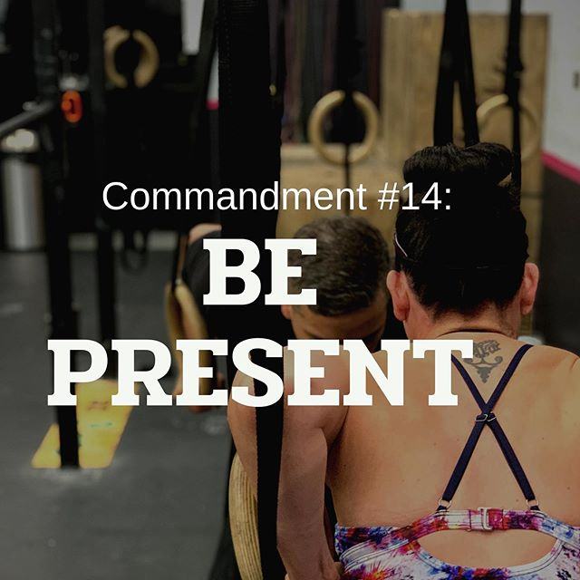 ❗️Commandment #14: Be Present❗️ ⚡️ ⚡️You've made it! NOW it's time to invest in YOUR mind, body, and well-being!⚡️ ⚡️ ⚡️Focus, Engage and Play!⚡️ ⚡️ ⚡️ #bestgymever#synapsefamily#crossfit#crossfitsynapse#superheroesofsynapse#challengeyourself#fitness#fitnessgoals#gym#reseda#tarzana#sfv#pr#synapsecommandments