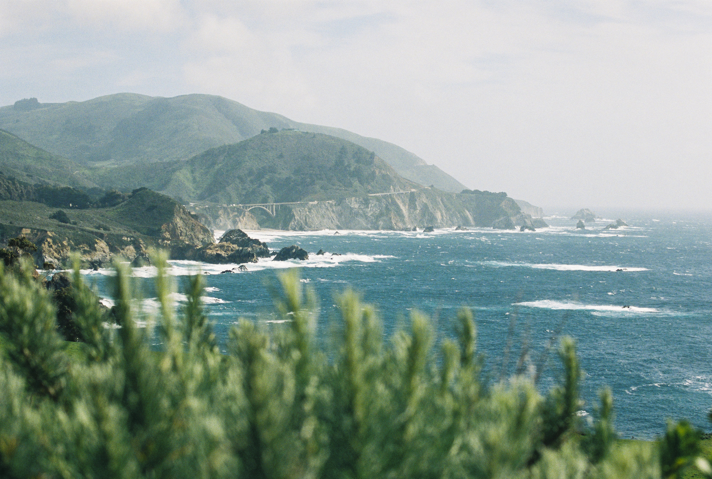 California on #35mm Film -